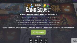 HUMBLE HEADUP GAMES BAND BOOST BUNDLE