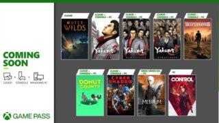 XBOX GAME PASS 202101